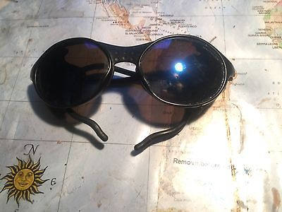 Vintage Mountain Skiing  Sunglasses Made In France ,très (Julbo Aviator)