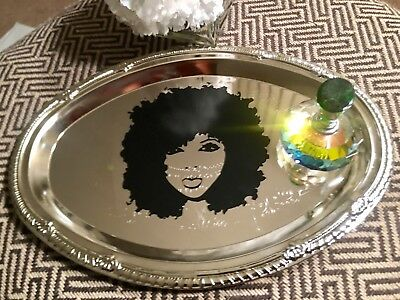 Modern Silver Jewelry Perfume Vanity Tray Free Shipping Birthday Day Gift Sale