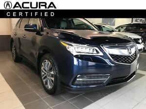 2016 Acura MDX Navigation, AWD, Backup Cam, Bluetooth, 7 Seats