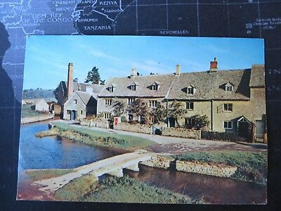 The Mill, Lower Slaughter, Gloucestershire. Postcard 1976