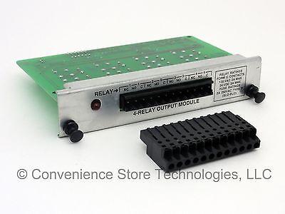 Used Veeder-root Tls-350 4-relay Module 329359-001