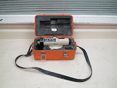 Pentax Pal-5c Automatic Auto Level Transit W Carrying Case Used Free Shipping