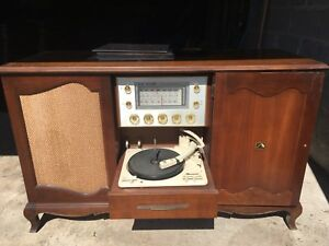 RCA Victor Stereo Orthophonic Vintage Console for Sale!