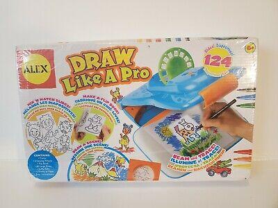 ALEX Toys Young Artist Studio Draw Like A Pro Sealed  Brand New Damaged Box