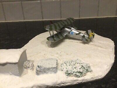 Corgi Aviation Archive 1/72 Artic Gladiator Diorama