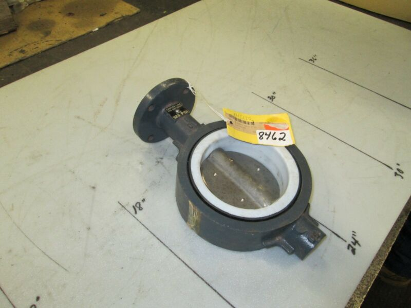"Center Line Butterfly Valve P/N 2816 4"" Wafer Type S/S Disk CWP 125 PSI (NEW)"