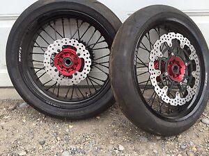 Warp 9 Rims with Conti Rubber -=NEVER USED=-