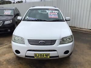 2010 FORD TERRITORY 7SEATER AWD. Leumeah Campbelltown Area Preview