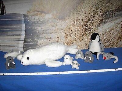 Stofftiere  Sammlung  Wassertiere