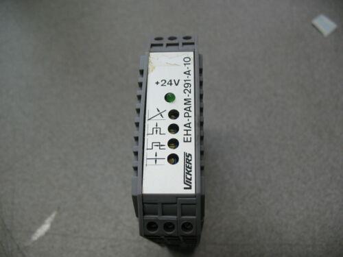 Vickers EHA-PAM-291-A-10 Servo Valve Power Amplifier