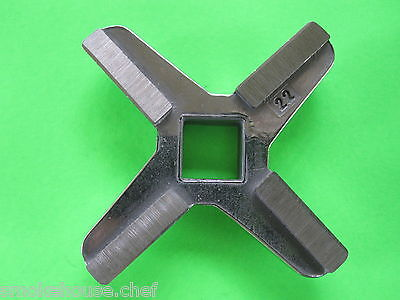 22 Meat Grinder Knife Blade For Hobart 4222 8422 4822 4422 Part 121144