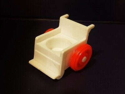 Vintage Fisher Price Little People Children's Hospital Wheel Chair (RARE) 931