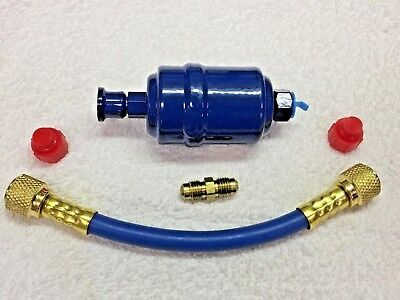 RECOVERY UNIT, Vacuum Pump, Pre-Filter-Drier Kit with HOSE, CAP Male Adapter