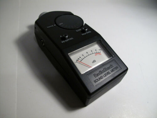 RADIO SHACK 33-2050 Analog Sound Level Meter TESTED