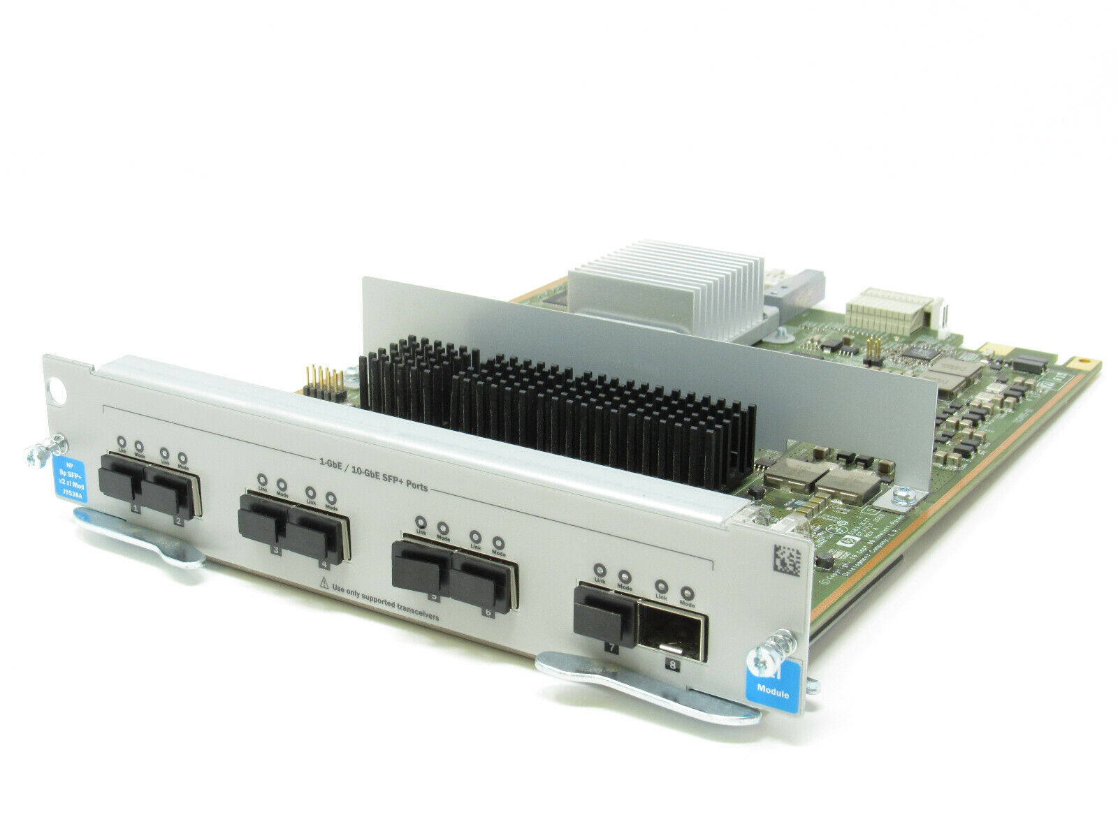 v2 zl Module HPE J9538A LIFETIME WARRANTY Genuine HP 8-Port 10-GbE SFP