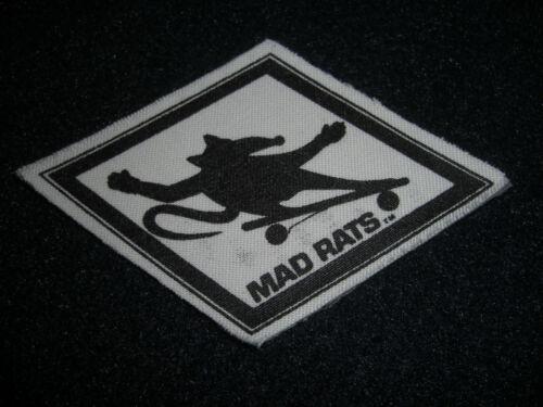 MAD RATS Skate Shorts Logo Skateboarding 1970