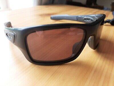 Oakley Turbine sunglasses. Matt black/grey. RRP £120. Julbo, Spy, Adidas.