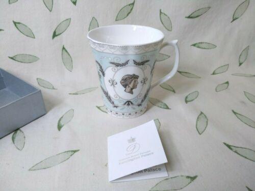 Historic Royal Palaces Princess Diana Bone China Blue Cameo Commemerative Mug