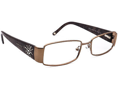 Versace Eyeglasses MOD. 1135-B 1061 Brown Rectangular Frame Italy 51[]16 135