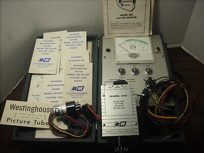Vintage B K Model 400 Cathode Tube Rejuvenator Tester