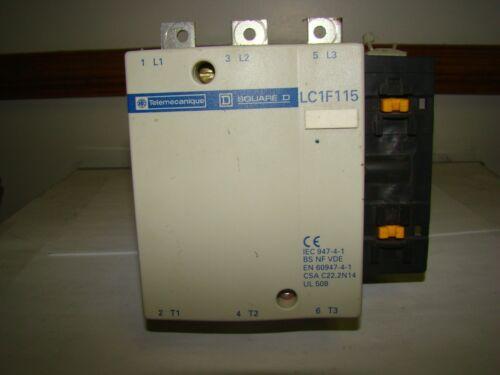 Telemecanique/Square D LC1F115F7 Contactor, New
