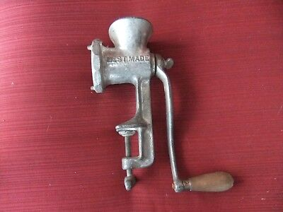 Vintage BEST MADE  No 25 Meat Grinder / Chopper Table Clamp