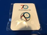 PORSCHE 70 Year Anniversary Lapel Pin Tie Tack Souvenir Collector 2018 NEW