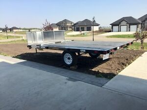 BRAND NEW 12 foot rainbow sled/atv trailer