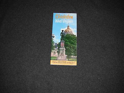 1970's Charleston West Virginia Events Brochure Pamphlet
