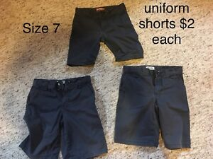 Boys size 7/8 and size 8 clothing