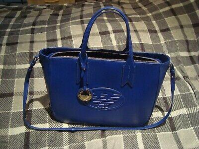 EMPORIO ARMANI Tote / Shoulder  Royal Blue Bag RRP £210.00
