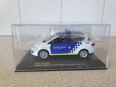 IXO / ALTAYA - SEAT TOLEDO GUARDIA URBANA - 1/43 SCALE MODEL CAR - POLICE CAR