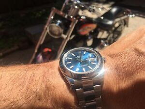LNIB - Rolex Datejust II - 116300 - 41mm Blue Dial