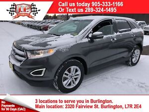 2016 Ford Edge SEL, Automatic, Panoramic Sunroof, AWD, 35, 000km