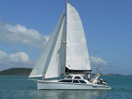 Catamaran Cruising Yacht