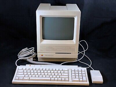 Apple Macintosh SE/30 M5119 w/ Keyboard, Mouse w/ SD SCSI - Recapped & Tested!