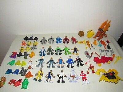 Imaginext 20 FIGURES + WEAPONS, ACCESSORY, MASKS LOT Winged Lion, Castle Knights