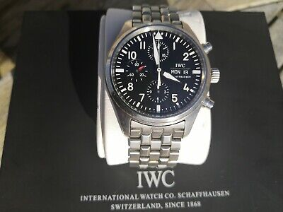 *** IWC Pilot Flieger Chronograph IW371704 (2007) 42mm with Box & Papers ***