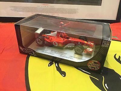 1:18 Hot Wheels Michael Schumacher Ferrari F1 1994-2002 World Champion