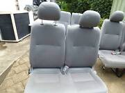 van seats-3 sets of 2  hiace/commuter-can suit other makes-as new Elderslie Camden Area Preview