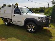 2006 Nissan Patrol GU II DX Cab Chassis Single Cab 6 cyl Burpengary Caboolture Area Preview