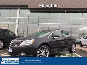 2013 Buick Verano Leather PKG | NAVIGATION | SUNROOF | BACKUP CA