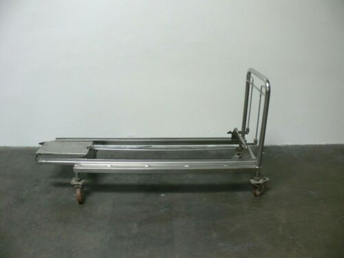 """Autoclave/Sterilizer Stainless Steel 23"""" x 71"""" Rolling Cart"""