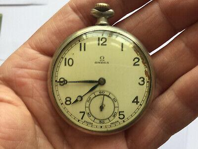 Vintage Omega Pocket Watch No Reserve