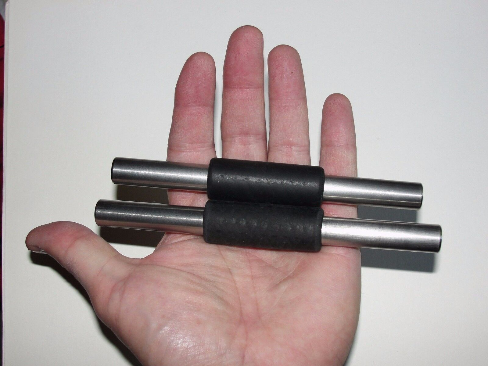 "Ti Rod Tactical™ 5-1/2"" x .44 Dia. Titanium Kubotan / Yawara Stick W/ Fist-Lock™"