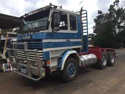 Scania 113H log truck Heybridge Central Coast Preview