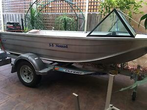 Near New 3.5 meter Aluminum Boat Roxburgh Park Hume Area Preview
