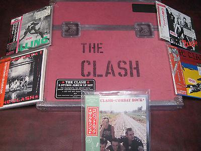 The Clash Deluxe 8 Lp 180 Gram Box Set   Japan Replica Obi Cds Exact To Vinyl