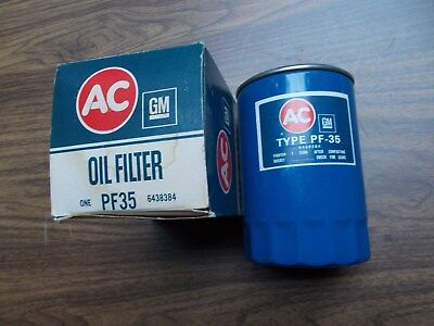 79 1979 Chevy GMC Truck 350 454 V8 PF35 NOS AC GM Oil Filter Blue OEM Spin On
