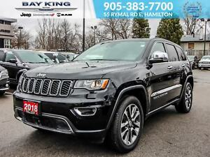 2018 Jeep Grand Cherokee 4X4, BACK UP CAMERA, GPS, BLIND SPOT MO